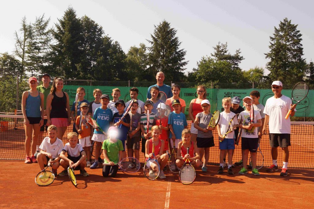 Tenniscamp TC Hainstadt Sommer 2017
